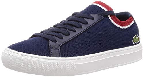 Lacoste Herren LA PIQUEE 119 1 CMA Sneaker, Blau (Navy/White/Red), 39.5 EU