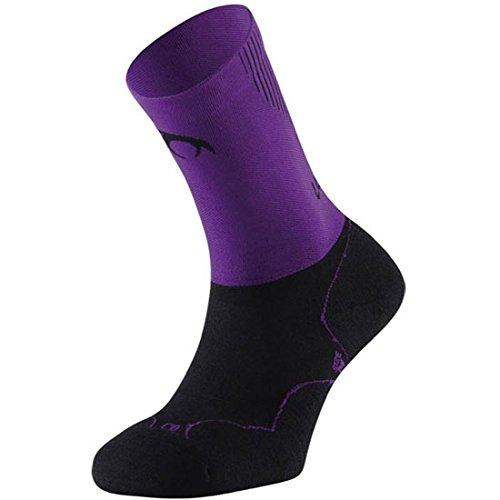 Lurbel - Socks Gravity, Color Purple, Talla M