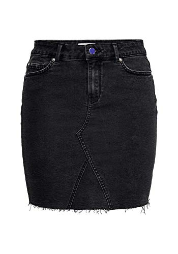 ONLY Damen Jeansrock Short MBlack