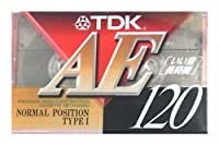 TDK オーディオカセットテープ ノイズが少ない 120分 いい音クッキリ AE-120A