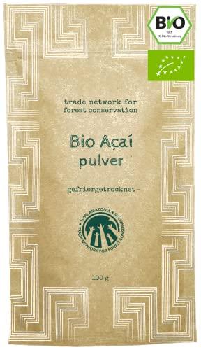 100% Amazonia -   Reines Acai Pulver