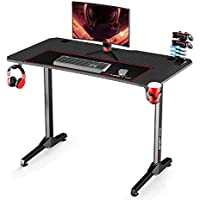 Kinsal 44 Inch Speed Series Gaming Computer Desk with Large Mouse Pad