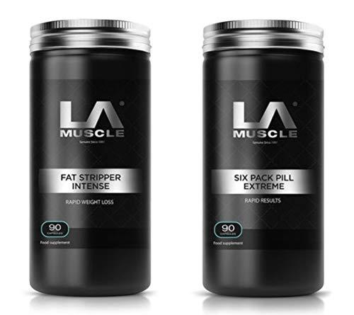 LA Muscle Fat Stripper Intense +Six Pack Pill Extreme