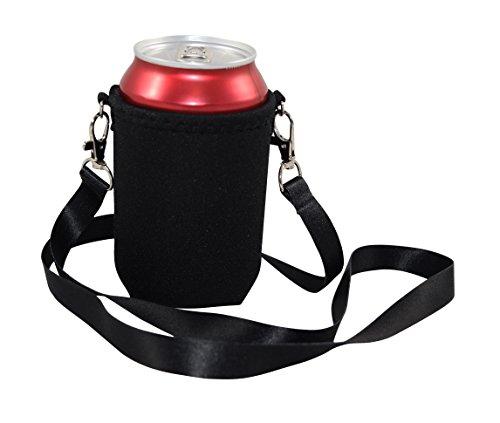 BeerHolder Eff Em Concept Dosenhalter für den Hals, Dosenhalterung inkl. Halstrageband, Glashalter, Flaschenhalter (Lanyard)