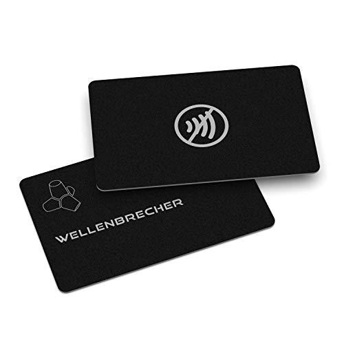 RFID Blocker Karte – NFC Blocker Karte | Blockierkarte für Geldbeutel, Bankkarte, Kreditkarte, Personalausweise | EC Karten Schutz | Störsender