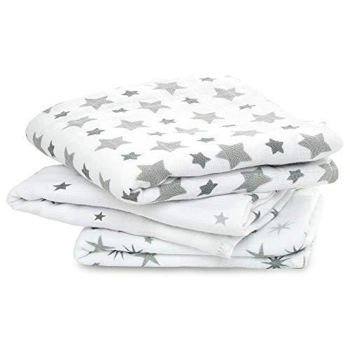 aden + anais - Lange, Conçu en 100% Mousseline de Coton, Multi usages, pour les Nouveaux-nés, Fille et Garçon