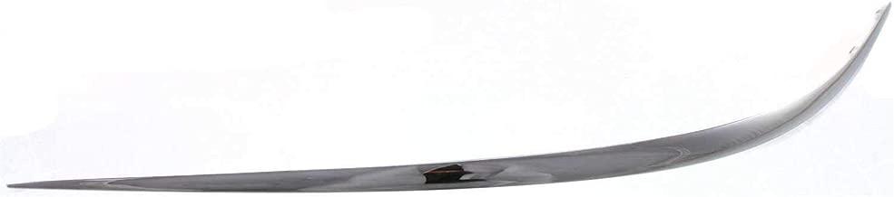 124 Chassis Garage-Pro Front Bumper Trim for MERCEDES BENZ E-CLASS 1986-1993 Impact Strip Plastic Black
