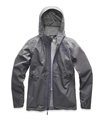 The North Face Women's Resolve Plus Jacket - Mid Grey Dobby & Deep Blue - M