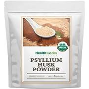 Healthworks Psyllium Husk Powder (80 Ounces / 5 Pounds) | Raw | Certified Organic | Finely Ground Powder from India | Keto, Vegan & Non-GMO | Fiber Support
