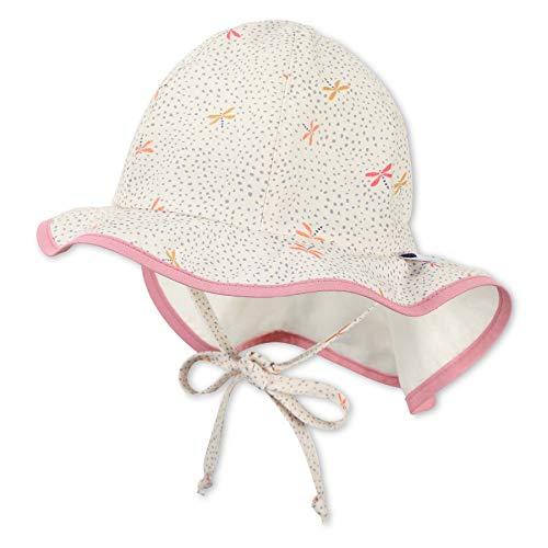 Sterntaler Baby-Mädchen Flapper 1402122 Hut, Ecru, 45