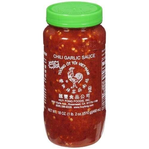 Huey Fong Chili Garlic Sauce 18 Oz