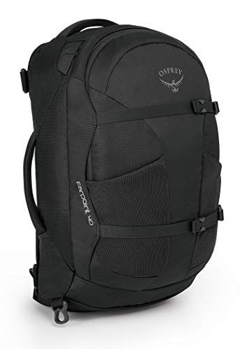 Osprey Farpoint 40 Travel & Trekking Rucksack, Volcanic Grey - One Size (Medium/Large)