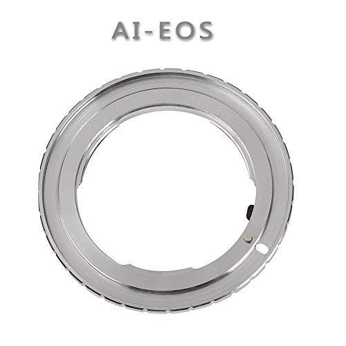 Fotga Mount Adapter Ring for Nikon AI F Lens to Canon EOS EF EF-S DSLR Film SLR Camera 1D X 1D C 5D 5Ds R 6D 7D Mark II/II/IV 60D 70D 77D 80D 700D 750D 760D 800D 1000D