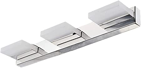 OSALADI Vanity Lights Badkamer Verlichtingsarmaturen Roestvrij Staal Moderne 3 Heads 9W Licht Bar Over Spiegel Front Wc Wa...