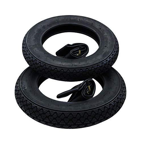 2X Reifen VeeRubber 3.50-10 59J VRM054 VRM 054 Diagonalreifen klassisches Profil 10 Zoll + Schlauch Allwetter Piaggio Vespa