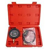 Solimeta Car Vacuum and Fuel Pump Tester Gauge Kit, Fuel Pump and Vacuum Tester Gauge, Leak Carburetor Pressure Diagnostics