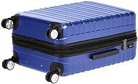 Amazon Basics - Trolley rigido Premium con rotelle pivotanti e lucchetto TSA integrato - 78 cm, Blu #4