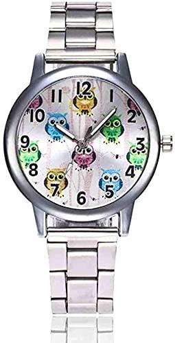 JZDH Mano Reloj Reloj de Pulsera Relogio Relojes de Acero Inoxidable Mujeres Classic Metal Malla Banda Cuarzo Reloj de Pulsera Damas Reloj de Negocios Simple Relojes Relojes Decorativos Casuales