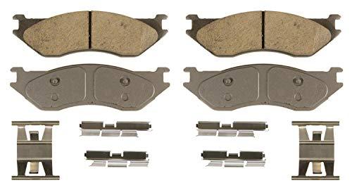 Wagner ThermoQuiet QC966B Ceramic Disc Brake Pad Set