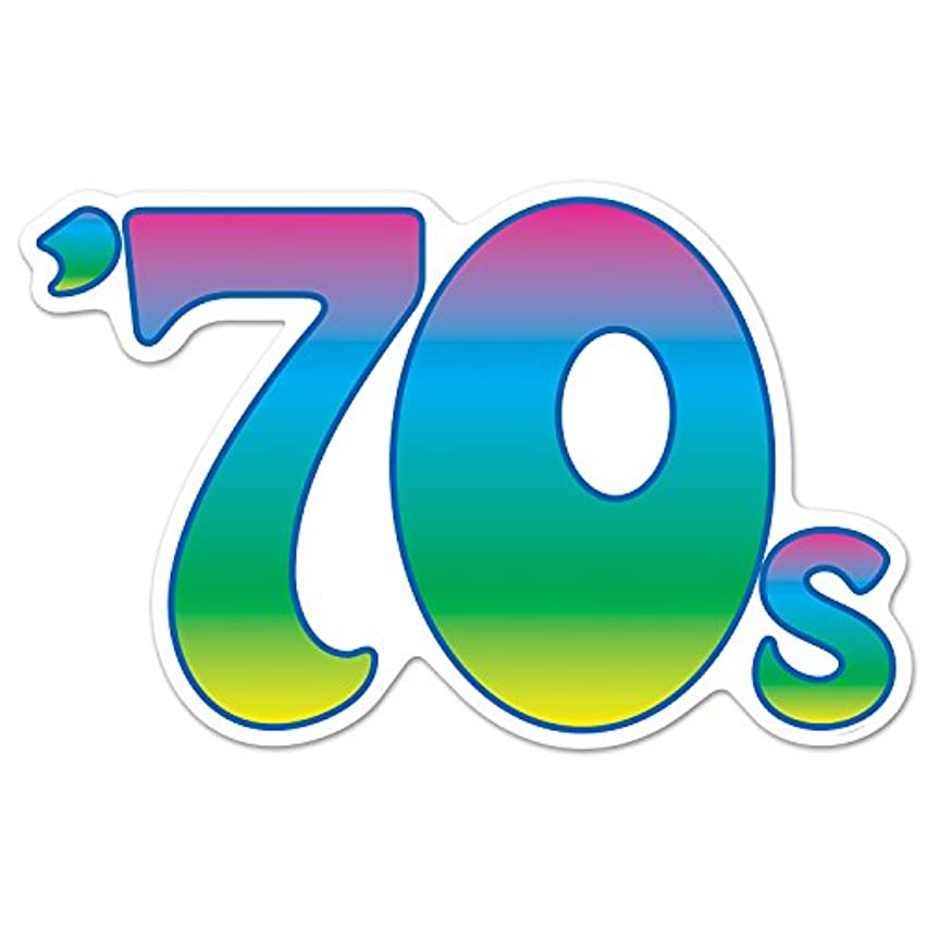 Beistle 70's Cutout, 22.5