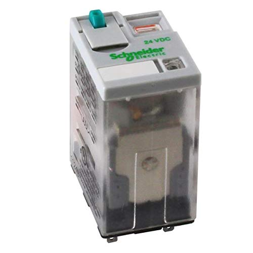 general purpose relays ice cube relay dpdt 15a, full cover (1 piece)