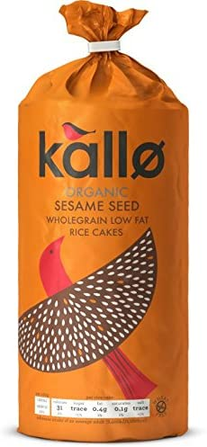 Factory outlet Kallo - Fairtrade Organic Sesame Wholegrain 13 Seed Cakes Gifts Rice