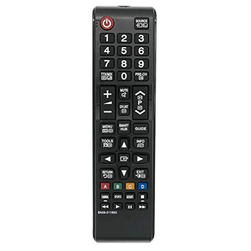 VINABTY BN59-01199G Control Remoto Reemplazar para Samsung TV UA32J4303 UE40JU6060 UE48J5200 UE32J4505 UE60JU6075 UE65JU6050...