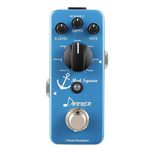 Donner Modulación Pedal Guitarra Digital Mod Square 7 Modos