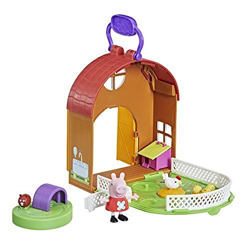 Peppa Pig- Pep PEPPAS Petting Farm Fun, Color (Hasbro F2195)