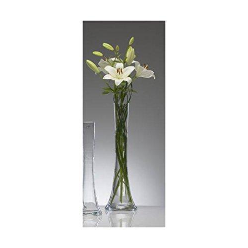 """Glasvase \""""Big Solifleur X\"""" Vase Glas Blumenvase Tischvase Bodenvase, hot cut 50 cm"""