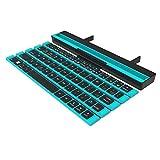 Clavier pliant en rouleau sans fil 64 touches Mini clavier pliable pour tablette portable Smartphone