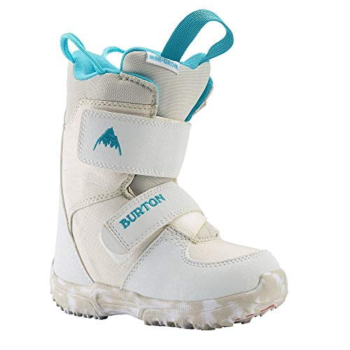 Burton Mini Grom Snowboard Boot (Toddler/Little Kid) White 7 Toddler M