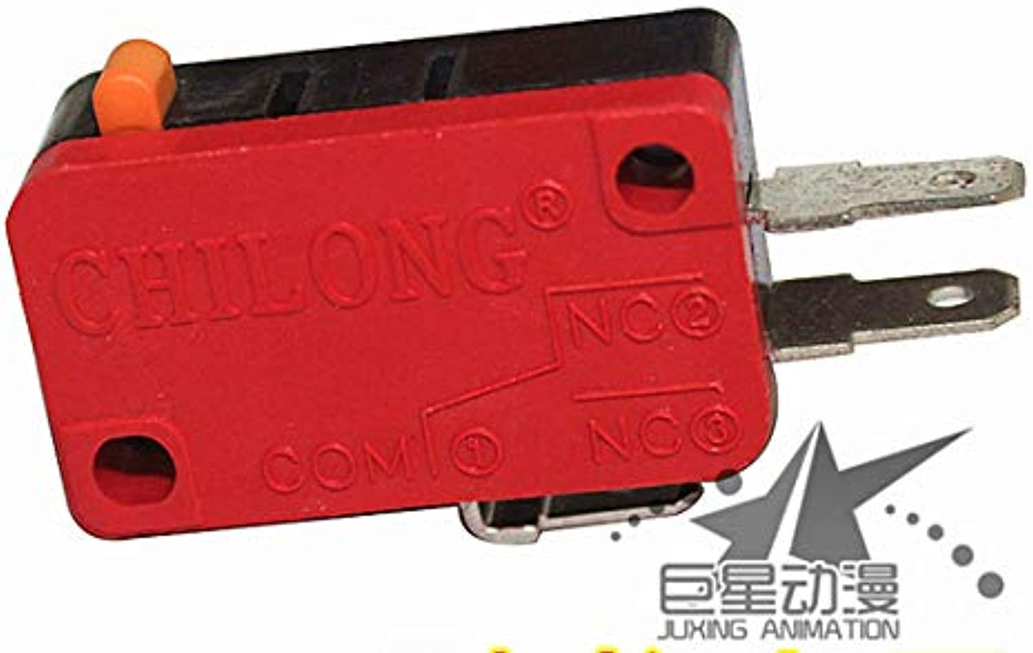 CL Red Three Feet Microswitch Arcade Micro Switch Three Leg Microswitches