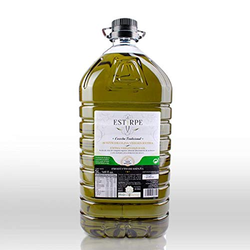 Estirpe - Aceite de Oliva Virgen Extra (1 Garrafa de 5 Litros)