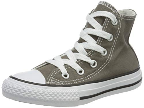 Converse  Chuck Taylor All Star Core Hi,  Unisex Kinder Kurzschaft Stiefel, Charcoal, 36 EU Kinder