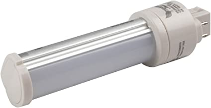 Maxlite 6W 4 Pin Horizontal 3500K G24q LED Bulb, Ballast Bypass, Rated For Enclosed Fixtures