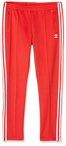 adidas Damen Super Girl Trainingshose, Lush Red/White, 32
