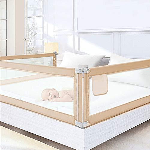 DHOUTDOORS 200×80cm Bettgitter Kinderbettgitter zum Vertikalen Heben Sicherheitsschutz Bettgitter zum Schutz vor Stürzen für Babys und Kinder (1Seite)