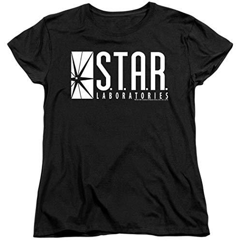 Damen Flash Star Labs Superhero S.T.A.R. Laboratories T-Shirt & Sticker - Schwarz - XX-Large