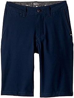クイックシルバー Quiksilver Kids キッズ 男の子 ショーツ 半ズボン Navy Blazer Union Amphibian Shorts [並行輸入品]
