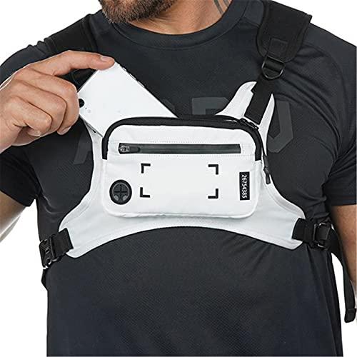 Correr mochila teléfono celular chaleco accesorios ligero soporte para caminar ciclismo