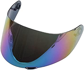 Amazon Com Anti Scratch Visor Shield For Agv K3 Sv K5 Helmet Rainbow Automotive