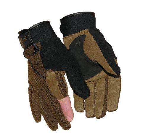 Benisport - Guantes de caza winter talla s, color negro-caqui