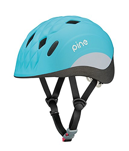 オージーケーカブト(OGK KABUTO) 自転車 ヘルメット 子ども用 PINE(パイン) ドルフィンブルー 幼児用(頭囲:47~51cm)