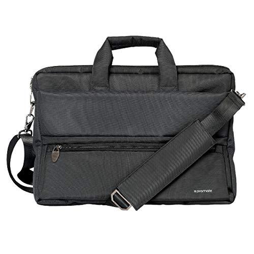 Messenger Bag Laptop, multifunctionele schoudertas met meerdere opbergvakken, afneembare sling en waterafstotende laptoptas voor 15,6 inch laptops
