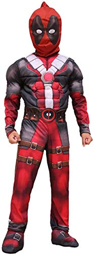Venom Deadpool Muscle Cosplay Disfraz niños película Juego de rol Disfraz Cosplay Venom niños Adultos Ajustado Conjunto clásico