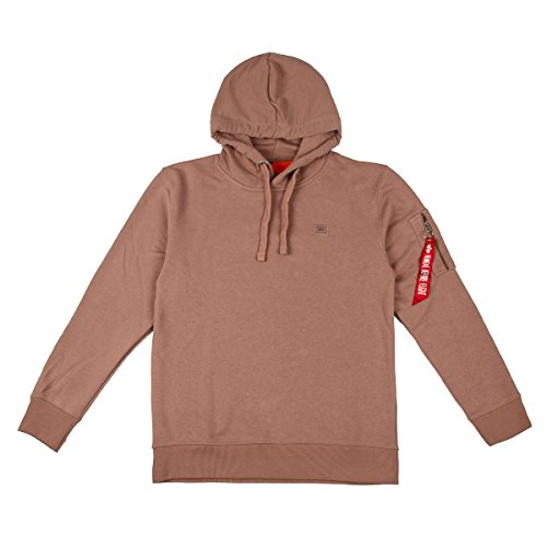 Alpha Industries X-Fit Hoodie Rosa L