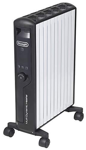 デロンギ(DeLonghi)マルチダイナミックヒーター ゼロ風暖房 ピュアホワイト+マットブラック [10~13畳用] MDHU15-BK