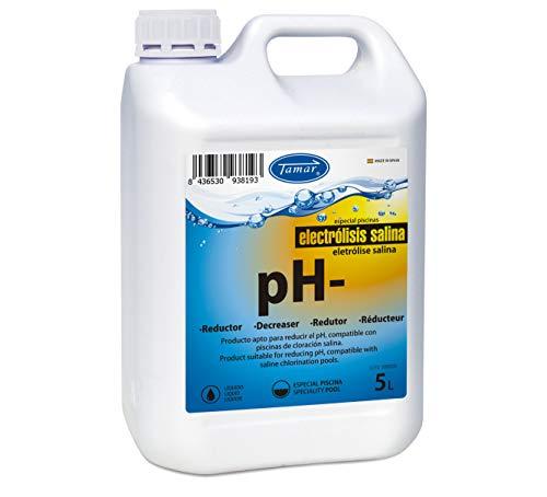 Tamar Reductor pH Electrolisis Salina 5 litros