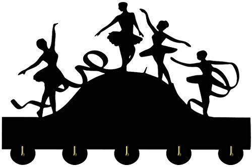 Perchero Bailarín de la Pared Bailarín de Ballet Bailarín Creativo Novedad de Madera Perchas Ropa de Regalo Sombrero Key Hook/Coat Rack/Hook de Pared Decoración de la casa Etiqueta